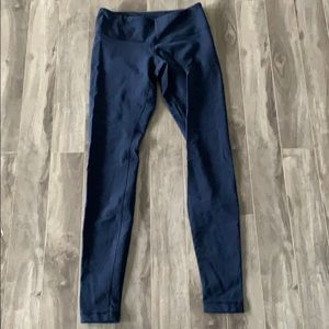 Lulu Lemon Navy Wunderunder Pants